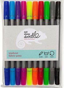 Doodle washout fabric pens