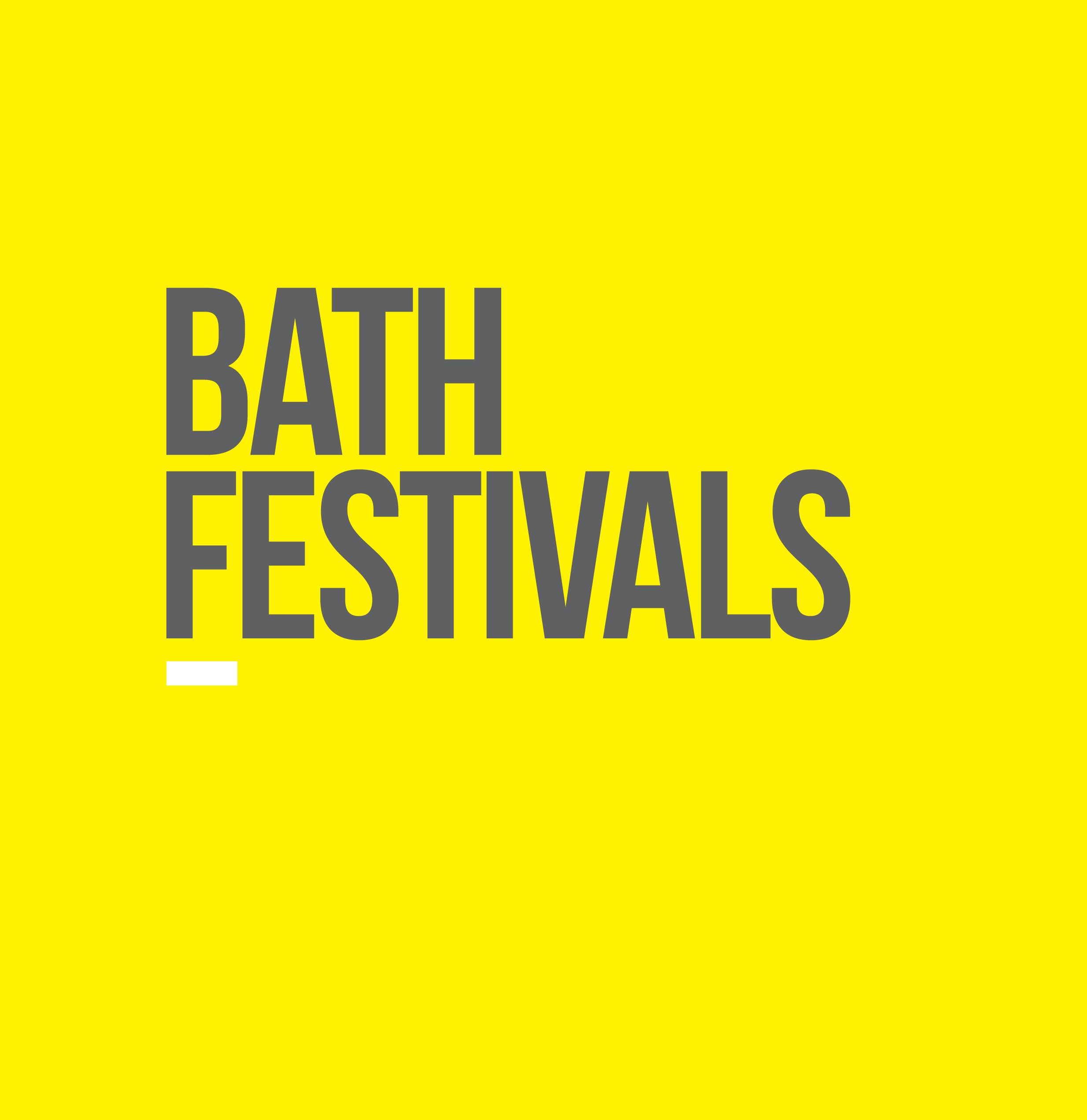 Bath Festivals