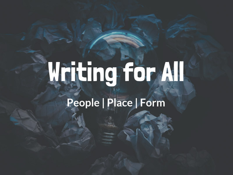 Writing for All - People, Place, Form